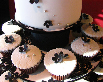 Black and White Wedding Cupcakes | Cupcake Ideas For You